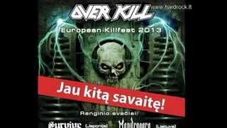 """""""Overkill"""" short video history (hardrock.lt)"""