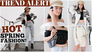 SPRING TREND ALERT! Current Fashion Favs!