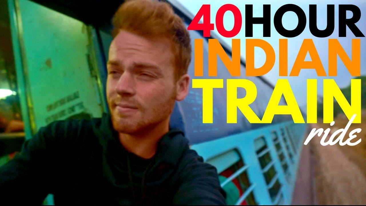 BRUTAL 40 HOUR TRAIN RIDE - SMASHED MY CAMERA | India Travel