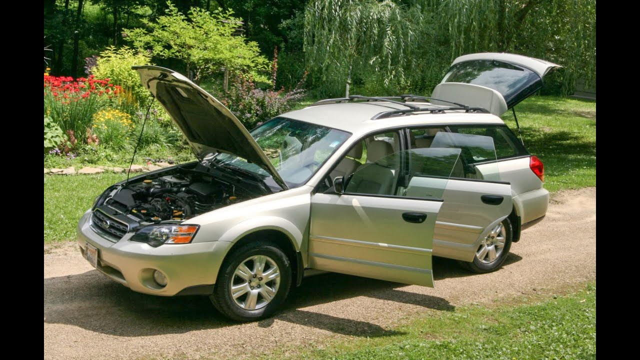 car for sale video tour inside out 2005 subaru outback youtube