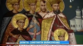 Moastele lui Constantin Brancoveanu, purtate in procesiune prin Capitala