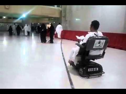 Electric Wheelchair Masjidil Haram Youtube