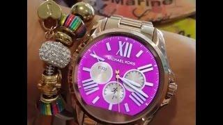 Review Michael Kors Access Bradshaw Rose Gold-Tone Smartwatch