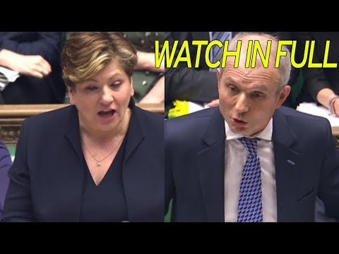 Emily Thornberry vs David Lidington at PMQs - 31 Jan 2018