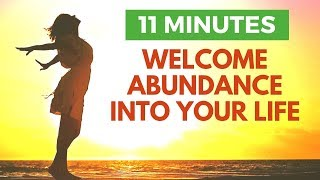 I Welcome Abundance Into My Life | Morning Affirmations for Success & Joy