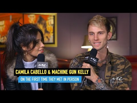 Camila Cabello and Machine Gun Kelly on...