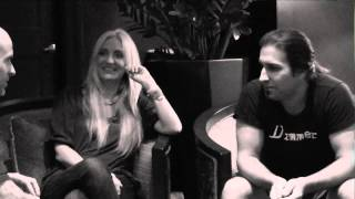video interview with something unto nothing drummer brian tichy and singer sass jordan part 2