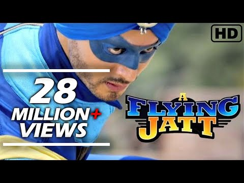 A Flying Jatt Hindi Movie  Promotion video...