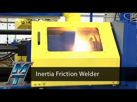 Inertia Friction Welder - Model 250B