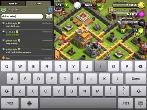 AWESOME CLASH OF CLANS INVITE GLITCH YouTube