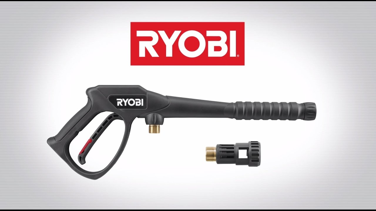 PRESSURE WASHER TRIGGER GUN   RYOBI Tools