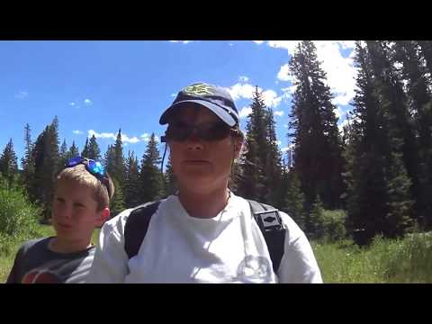 Lower North Fork Tongue river Fly fishing Big Horn Mountains