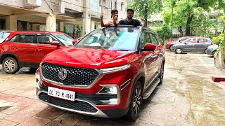 MG HECTOR Most Detailed Video | Modified MG HECTOR | MG HECTOR Interior & Roof Wrapping | MG HECTOR