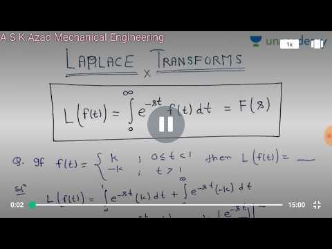 EM 20/21 | Fourier Series | Laplace Transforms