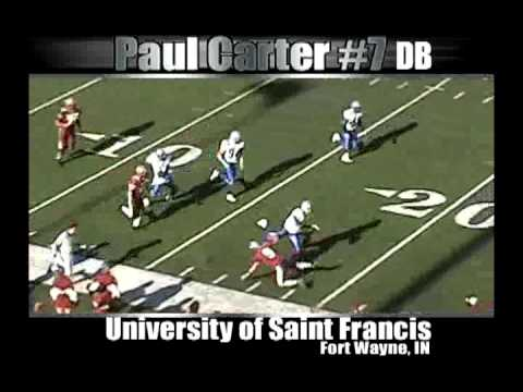 Paul Carter III - DB - St. Francis