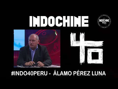 #INDO40PERU - Entrevista a Álamo Pérez Luna