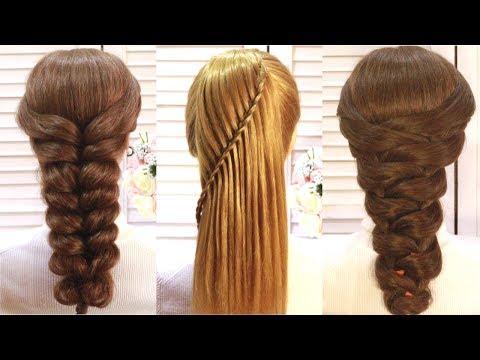 Топ 5 Простые и Удивительные прически на выпускной.Top 5 Amazing Hairstyle Tutorials Compilation
