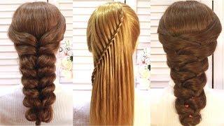 Топ 5 Простые и Удивительные прически на выпускной Top 5 Amazing Hairstyle Tutorials Compilation