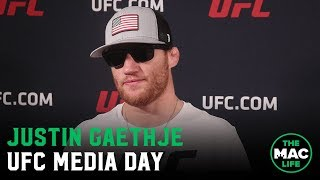 Justin Gaethje: 'The man across from me is trying to take what I've worked for. I won't let him.'