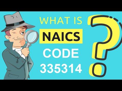 Naics Code 335314 Class Codes