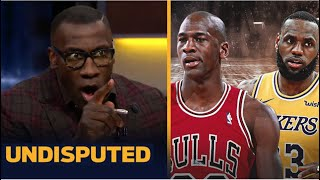 Shannon INSISTS LeBron is forcing us to relitigate the GOAT discussion of Michael Jordan ... again