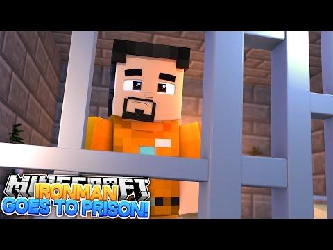 Minecraft Adventure - IRONMAN GOES TO PRISON FOR THE REST OF HIS LIFE - Видео из Майнкрафт (Minecraft)