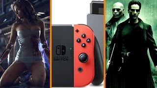 Cyberpunk 2077 WHEN? + More Classic Games for Switch + New Matrix NOT a Reboot - The Know