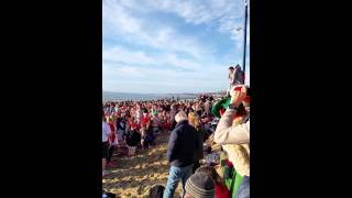 White Christmas Dip - Boscombe - 2014 The Warm Up!
