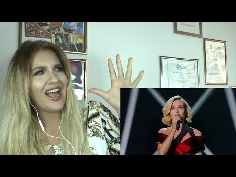 "Vocal Coach  explains    Polina Gagarina (Поли́на Гага́рина) - ""Hurt"" Singer 2019"