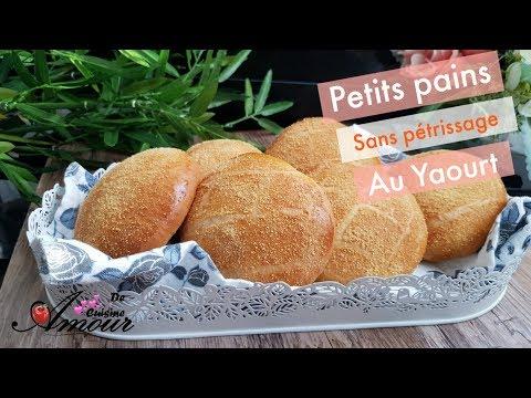 petits-pains-sans-pétrissage-au-yaourt,-recette-pour-ramadan
