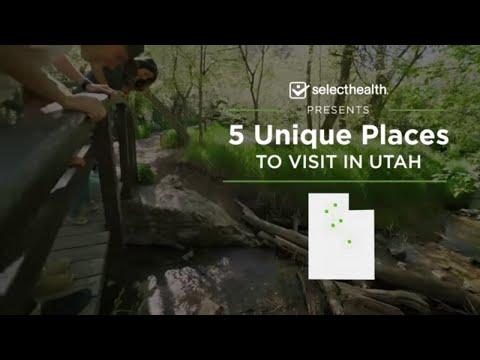 5 Unique Places to Visit in Utah (Spiral Jetty, Cascade Springs, Devils Kitchen, Bingham)