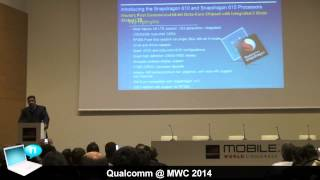 Qualcomm MWC 2014 - Snapdragon 801, Snapdragon 610 and 615