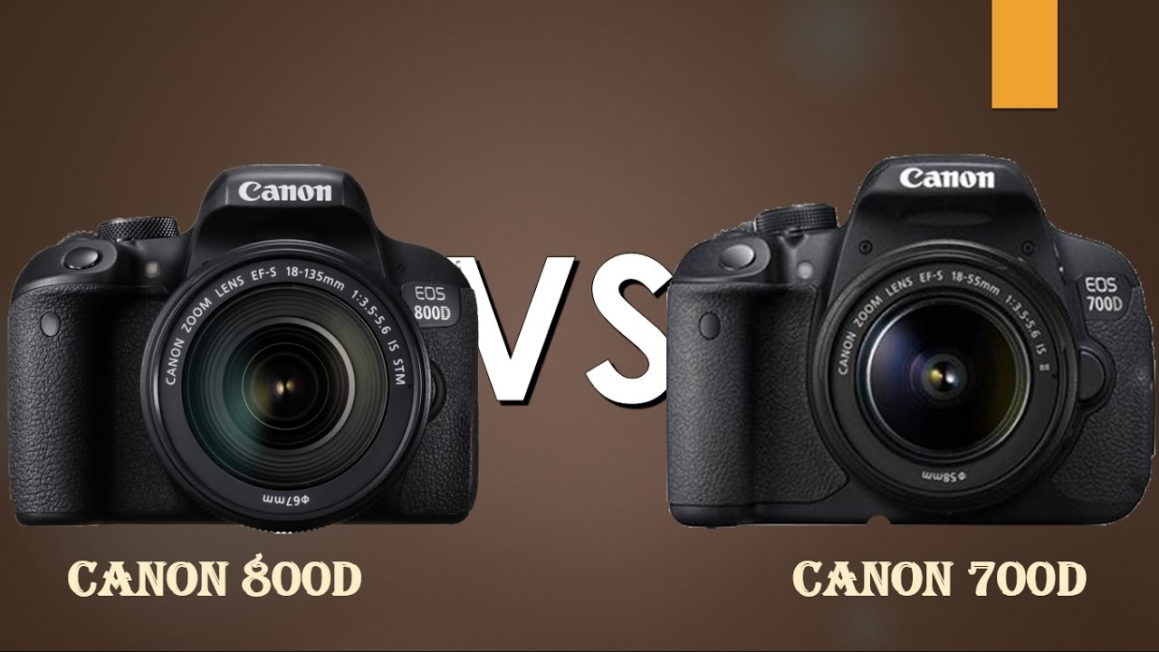 Canon 800d rebel t7i vs canon 700d rebel t5i straight for Housse canon 700d