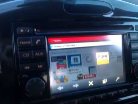 Nissan connect with internet opera mini over navigation phantom and gvif