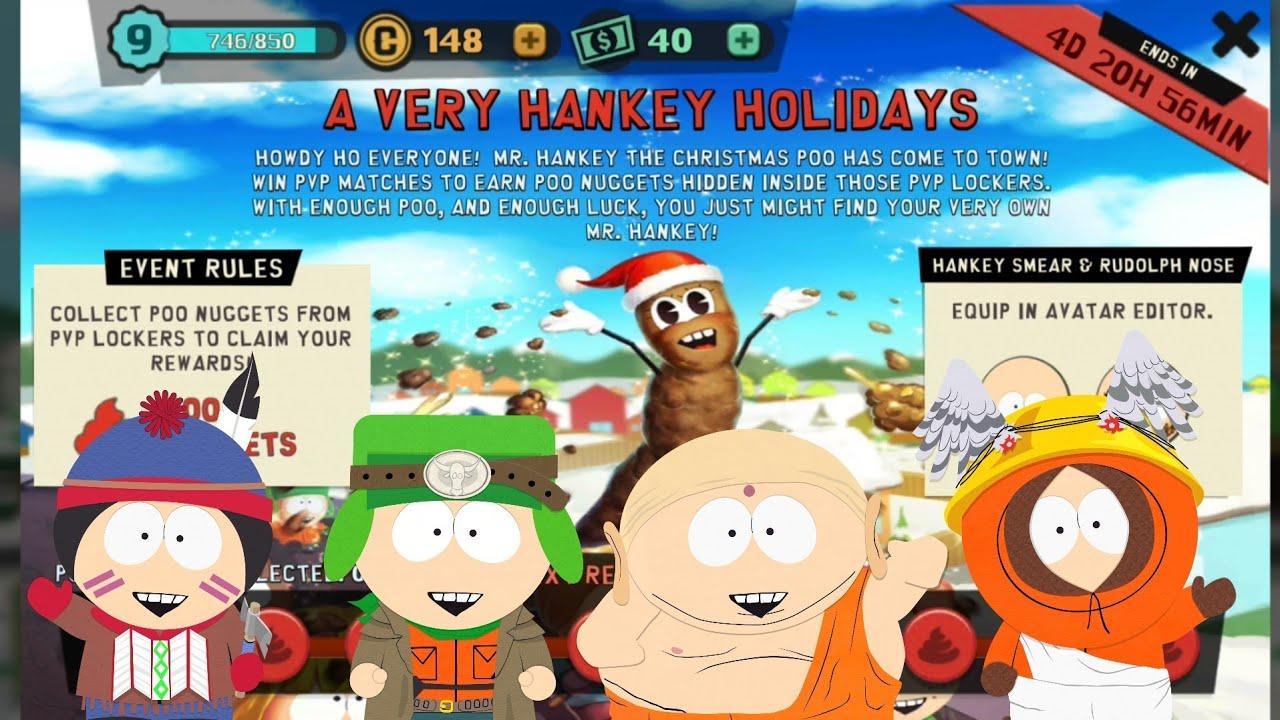 Christmas EVENT: Mr. Hankey the Christmas Poo 🎮 South Park: Phone ...