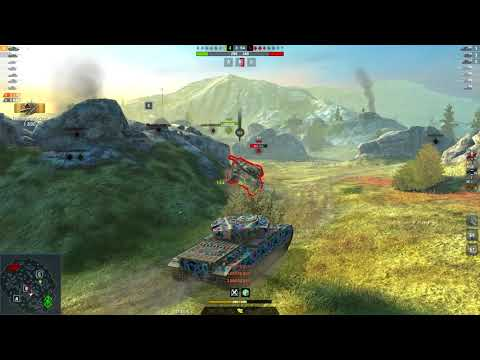 Centurion 1 5975DMG 4Kills   World of Tanks Blitz   almos2001 - World Record - thumbnail
