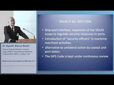 Maritime Security at IMO after 9/11