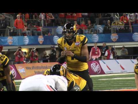 COTTON BOWL HIGHLIGHT:  Josey Puts Mizzou up 34-31