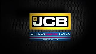 JCB supporting Williams Martini Racing in Europe