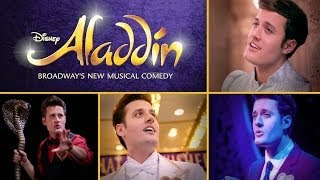 Nick Pitera's One-Man Tribute to Aladdin on Broadway | Oh My Disney thumbnail