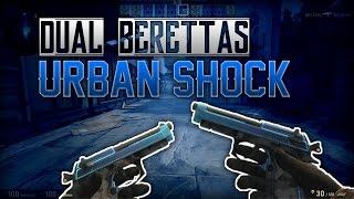 CS:GO | Dual Berettas - Urban Shock | Skin Review (Factory New)