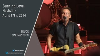 Bruce Springsteen | Burning Love - Nashville - 17/04/2014 (Multicam/Dubbed)