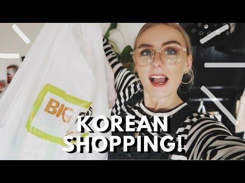 KOREAN SHOPPING IN SINGAPORE!