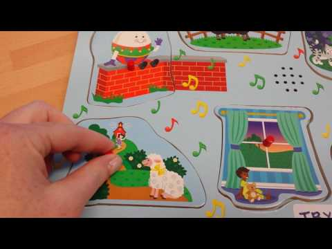Melissa and Doug Nursery Rhymes Sound Puzzle