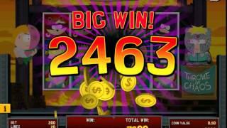 South Park: Reel Chaos - NEW SLOT MACHINE - Bonus game MEGA WIN