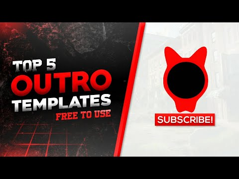TOP 5 2D OUTRO TEMPLATE [ENDSCREEN NO TEXT]