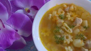 Детский суп. Рецепт.