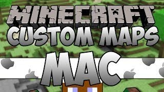 Minecraft - How To Install Custom Maps on MAC [1.11.2] [ALL VERSIONS]