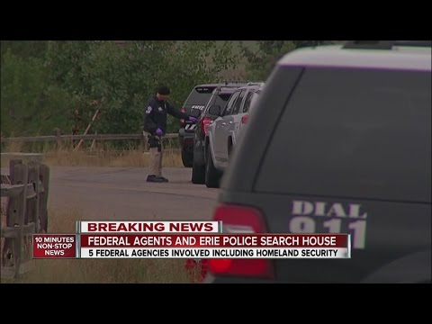 Homeland Security searching home in Erie Airpark