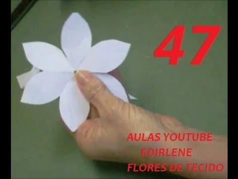 Aula 47 Como Fazer Moldes Das Flores Que Linhas E Colas Usar Atendendo Pedidos